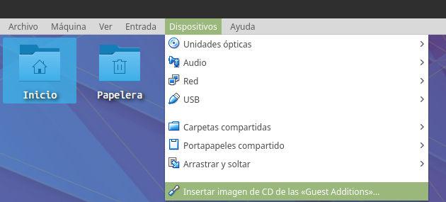 Compartir carpetas con Virtualbox con host y guest linux