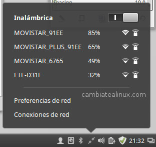 Wifis disponibles